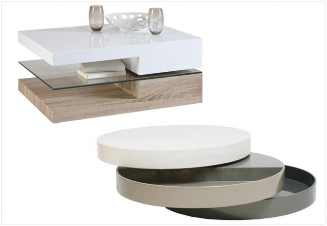 les tables basses design multifonctions