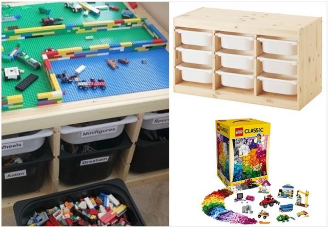 Range Tes Lego Joli Place
