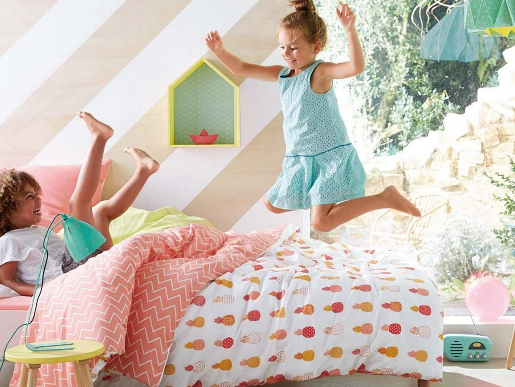 Tropicool kids  chambre enfant tropical  Joli Place