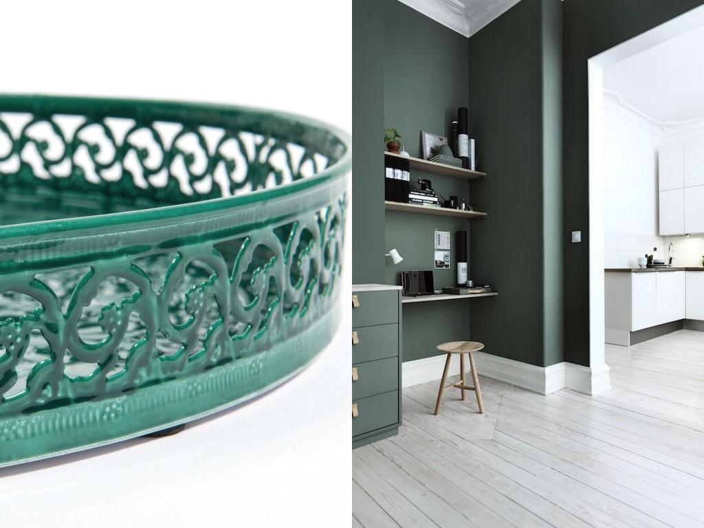 Chambre Couleur Vert Et Marron