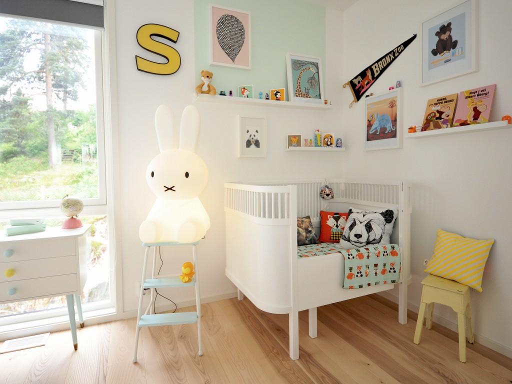 Chambre Scandinave Bebe Fille