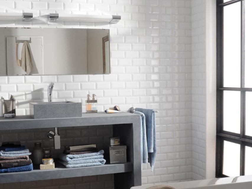 15 salles de bains avec du carrelage mtro  Joli Place