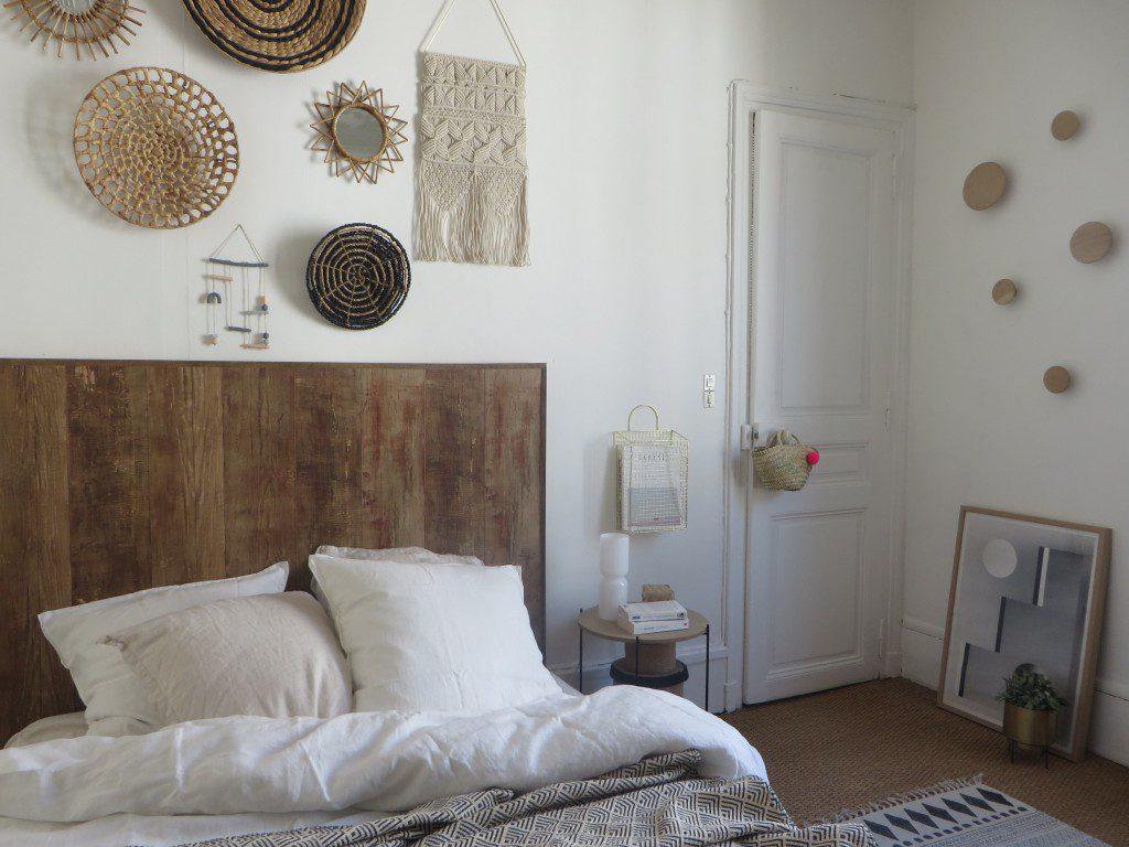 Fabriquer une tte de lit faon bois  Joli Place