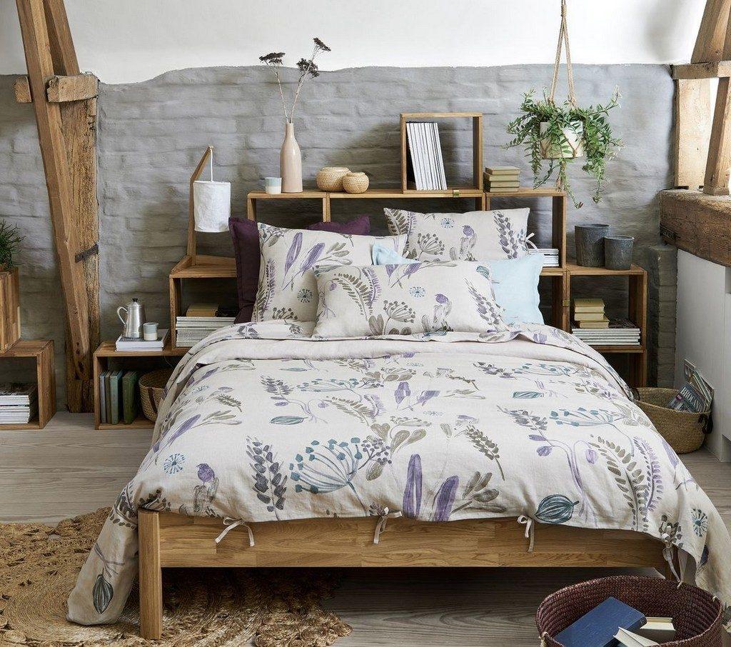 Chambre Style Campagne Romantique - Décoration de maison idées de ...