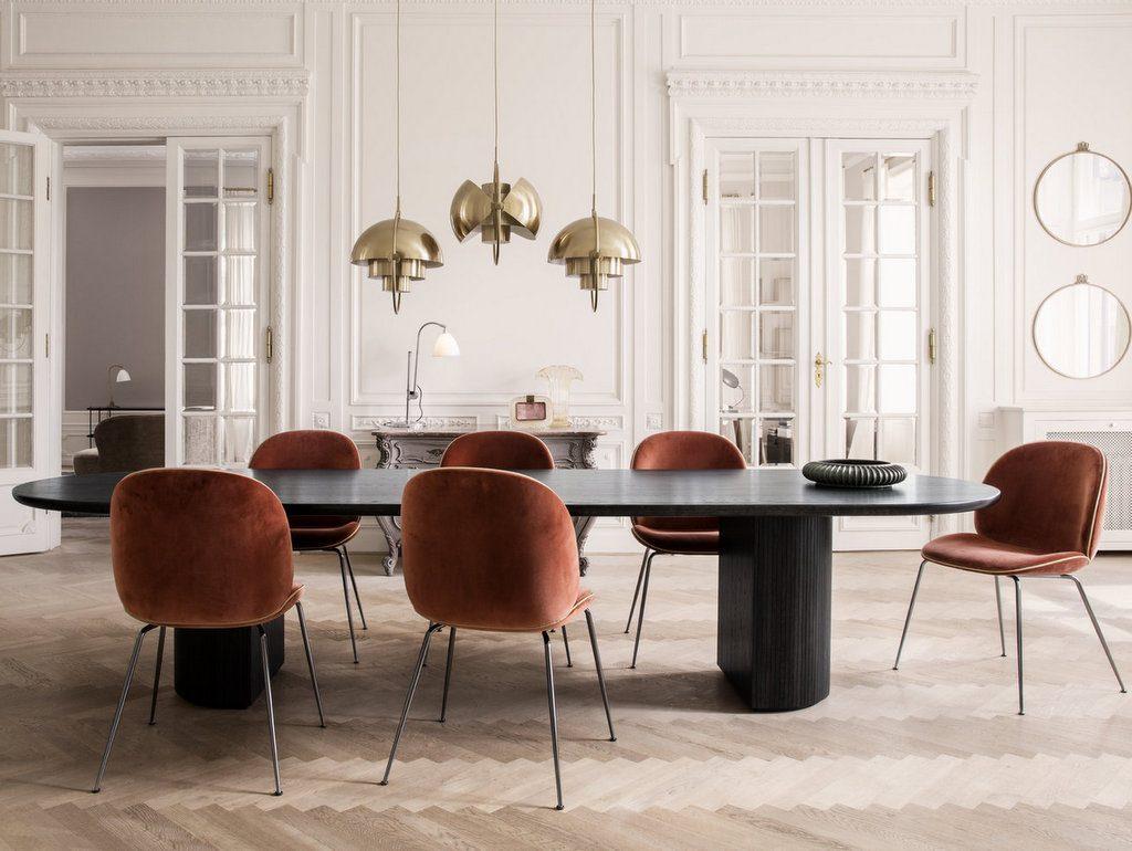 copenhagen dining chairs baby chair seat la déco couleur terracotta, une tendance qui vient du sud - joli place