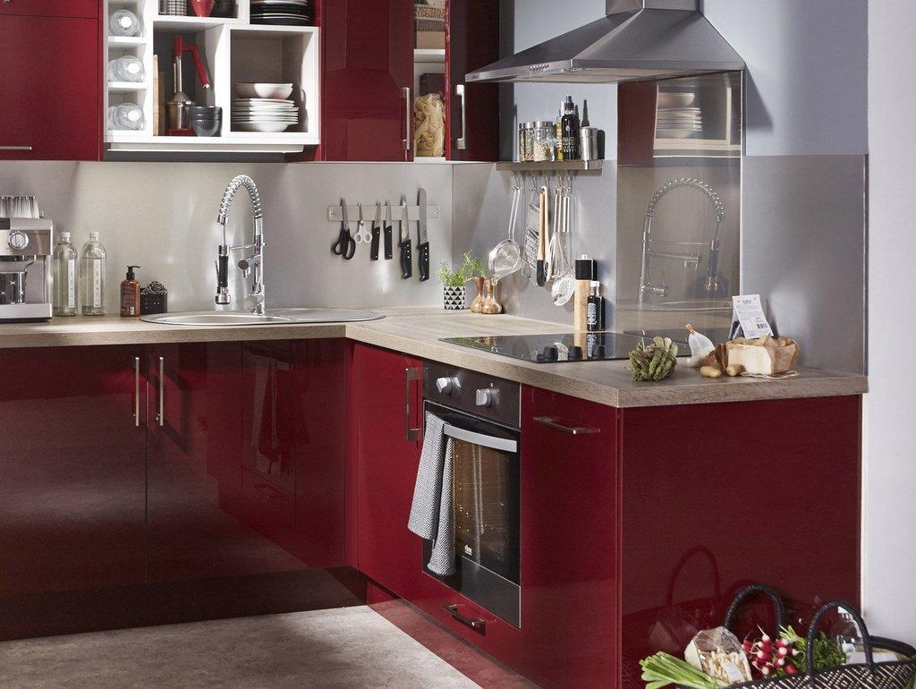 d co cuisine rouge 5 id es pour adopter cette couleur joli place for idee d