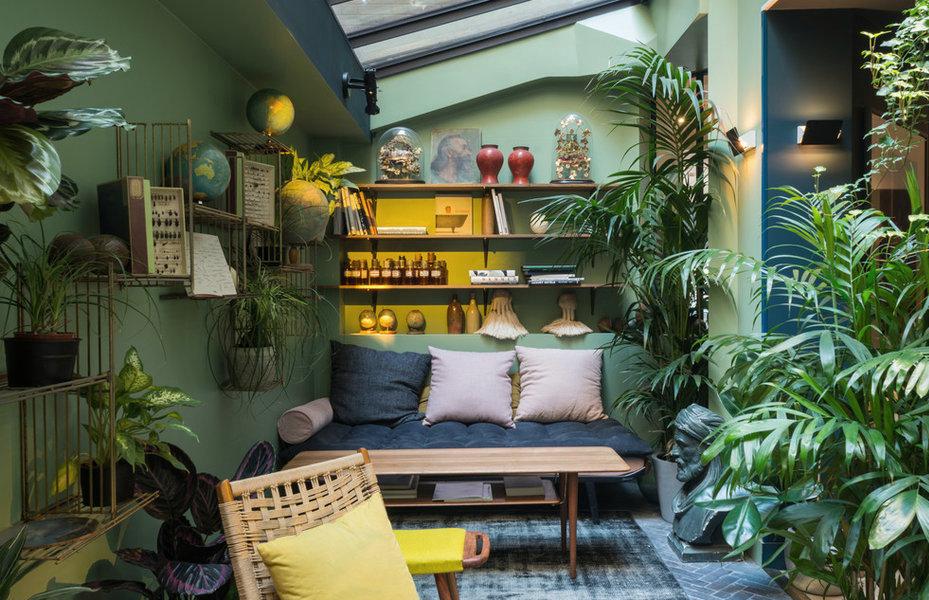 Dco jungle salon  lesprit tropical version urbaine  Joli Place