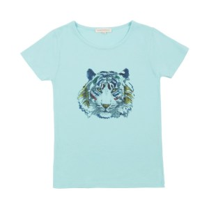 Smallable T-Shirt Tiger bleu Hundred Pieces