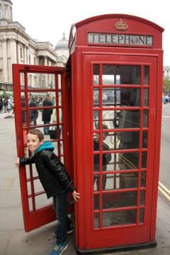 enfants à Londres