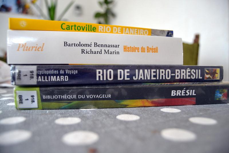 préparatifs de voyage au Brésil