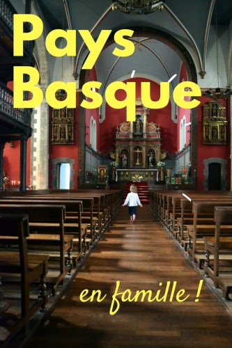 Pays basque en famille