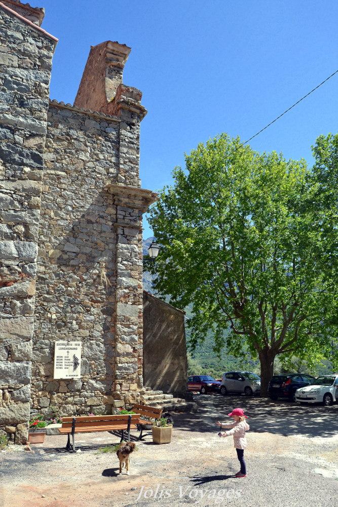 Circuit des villages perchés de Balagne Lunghignano : 10 idées pour découvrir la Haute Corse #Corse #Plage #France #Voyage