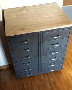 meuble HELMER IKEA
