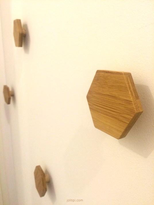 DIY patère en bois homemade Joli Tipi (1)