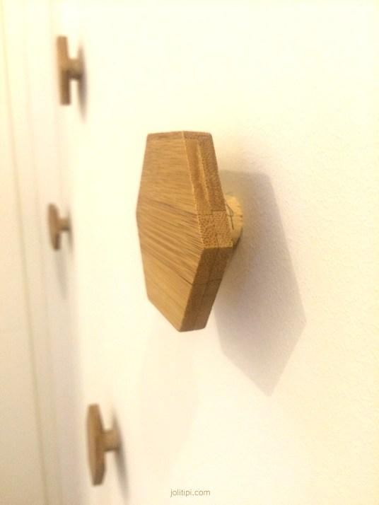 DIY patère en bois homemade Joli Tipi