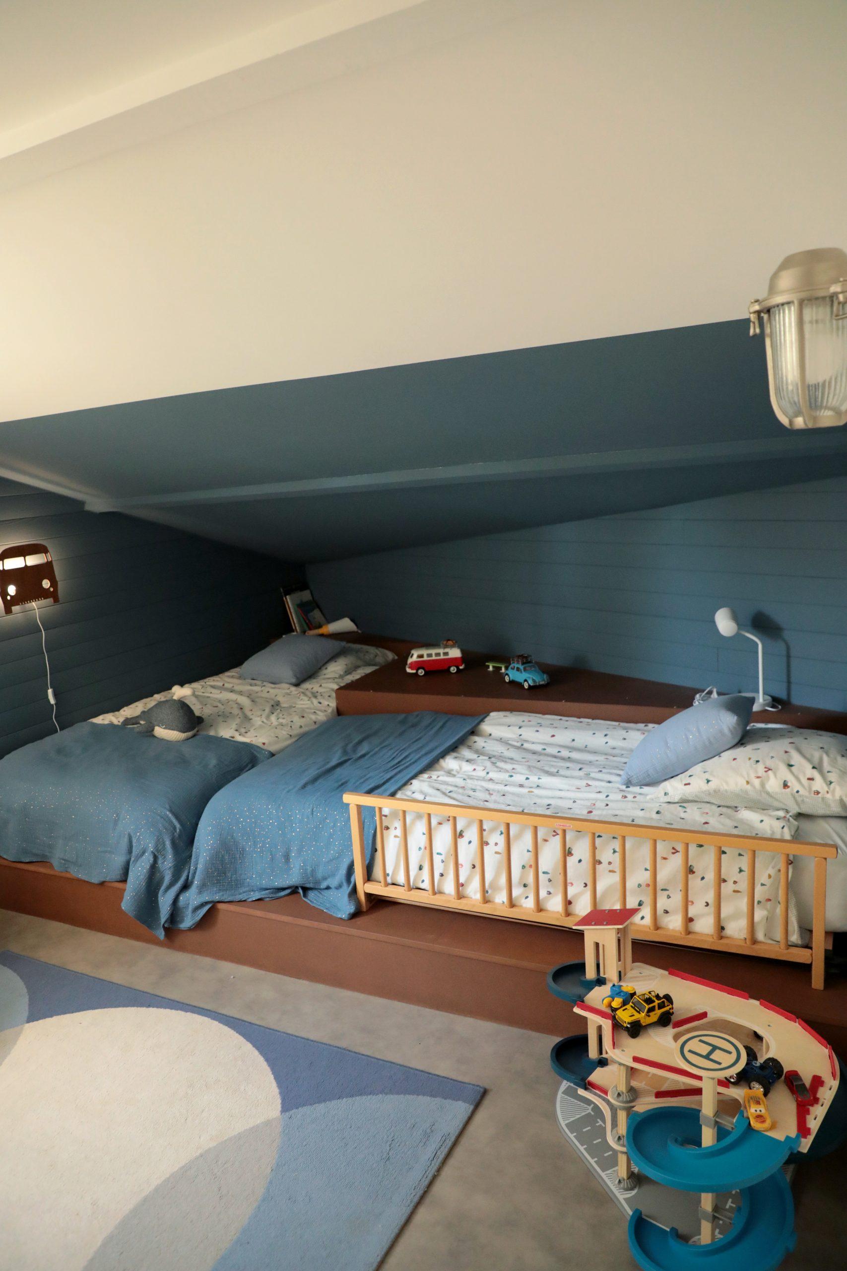 chambre enfant lit cabane