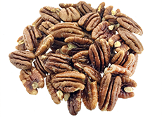 Pecans roasted salted