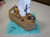Amy's Pirate Birthday Cake