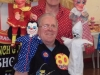 Len with Punch and Judy friends