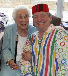 The Birthday Girl ( 90 ) and the Magician