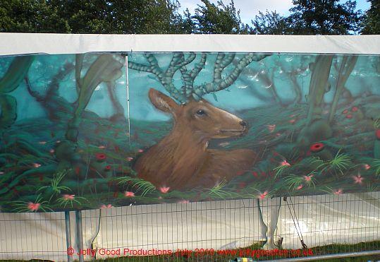 Deer Shed Festival Mural
