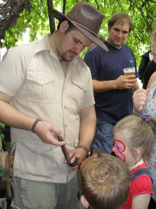 Handling Creepy Crawlys