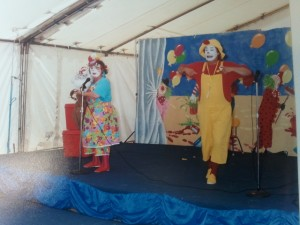 Marquee for children's entertainment