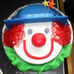 Amazing Clown Birthday Cake