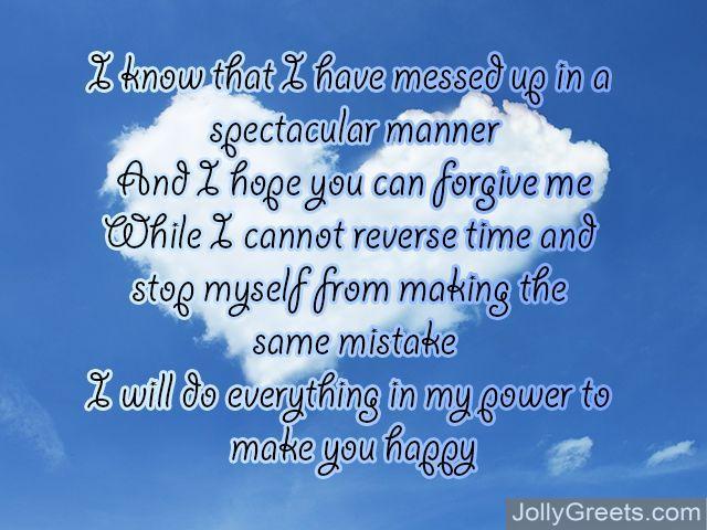 i am sorry poems