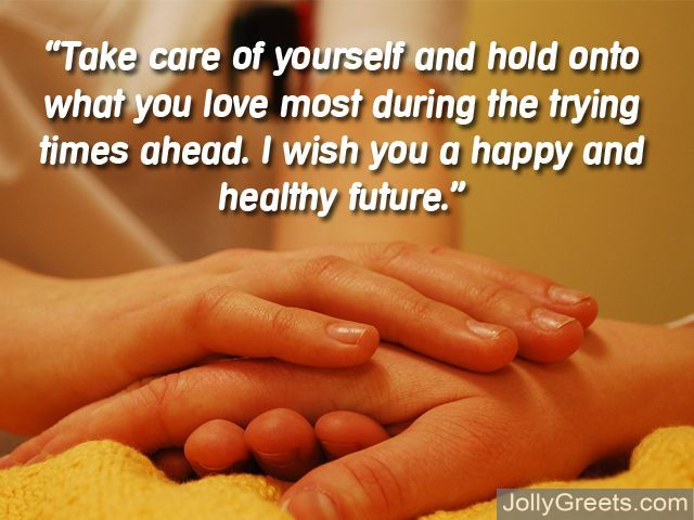 What To Write In A Take Care Card – Take Care Messages