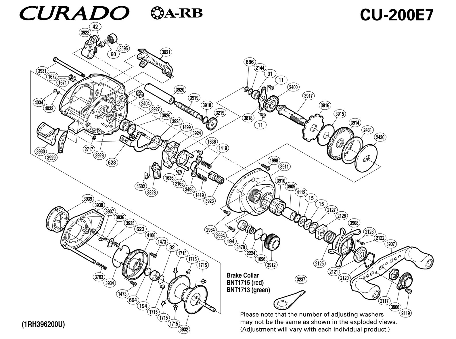 Zebco 33 Reel Parts Diagram