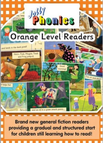 Jolly Phonics Orange Readers