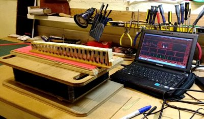 Accordion repair workshop