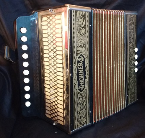 hohner one row melodeon accordion jolly roger accordions. Black Bedroom Furniture Sets. Home Design Ideas