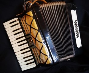 Parrot accordion 30 key
