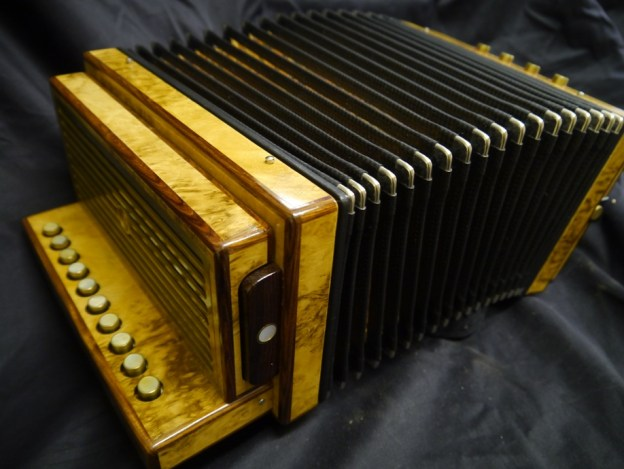 Albrecht one row melodeon in D (sold)