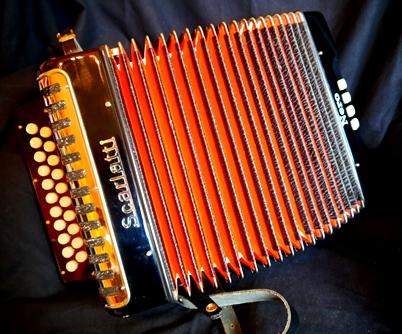 Scarlatti Nero melodeon D/G (sold)