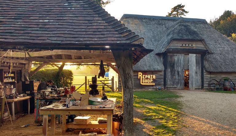 The Repair Shop barn