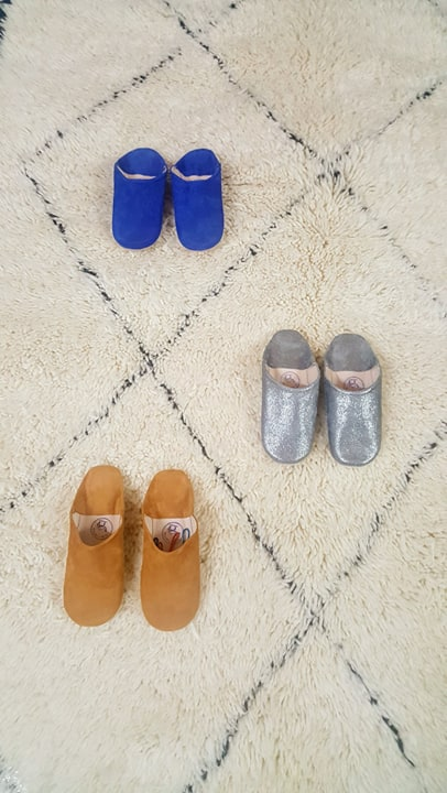 chaussons multiples couleurs
