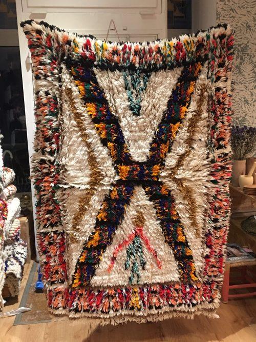 tapis vintage en laine