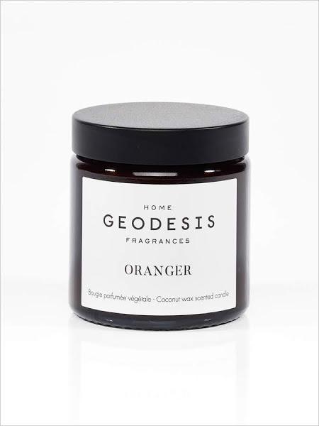 bougie parfumée naturelle oranger