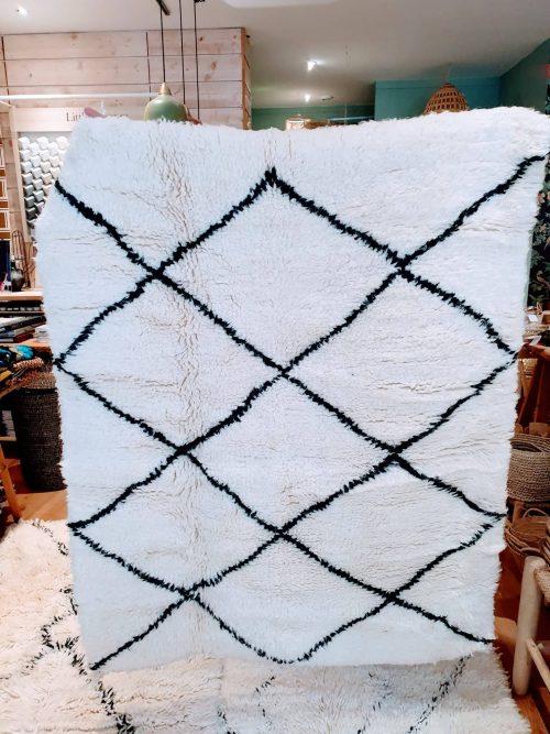tapis beni ouarain laine