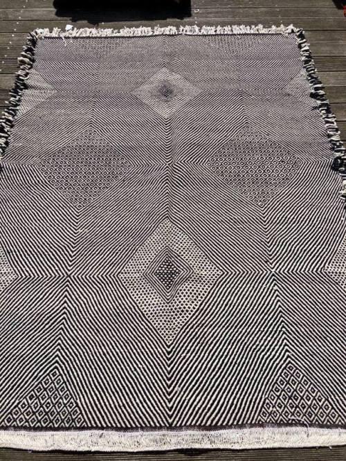 tapis kilim en laine