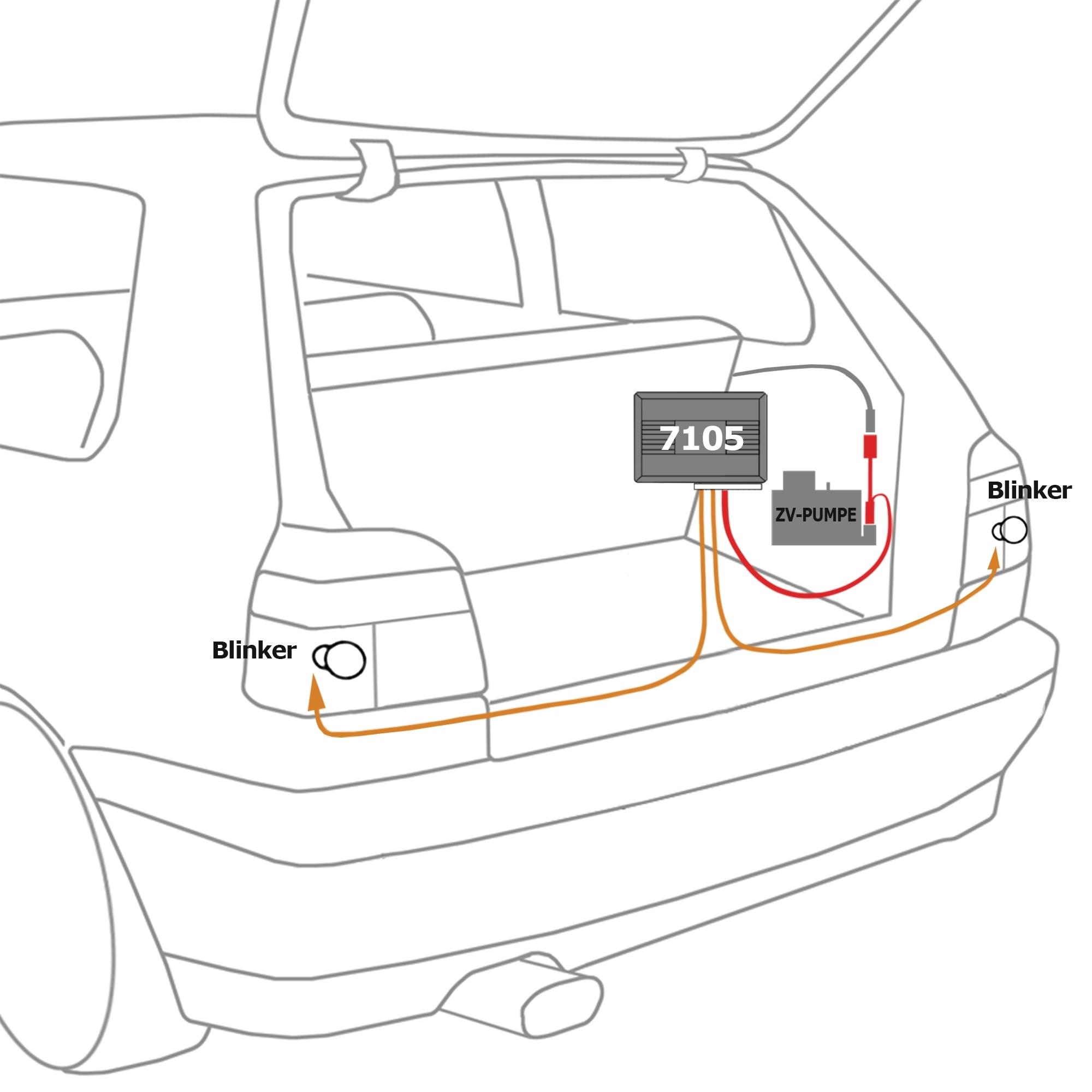 Fitting Remote Central Locking Ford