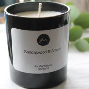 Sandalwood & Amber Luxury Candle