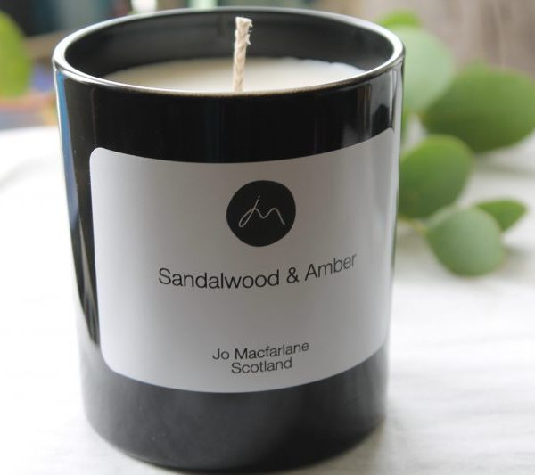 Sandalwood & Amber Luxury Candle