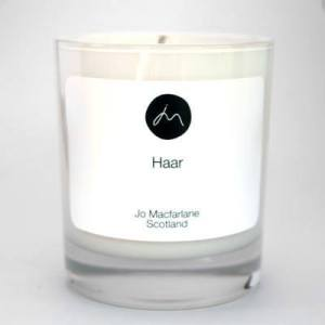 Haar Luxury Candle by Jo Macfarlane