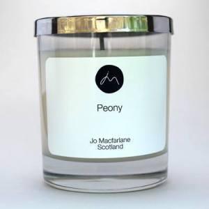 Peony Luxury Candle by Jo Macfarlane