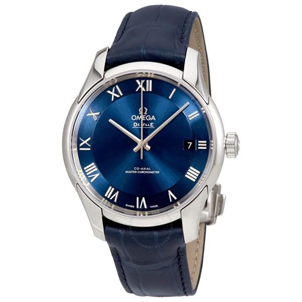 Omega De Ville Hour Vision Automatic Chronometer Blue Dial