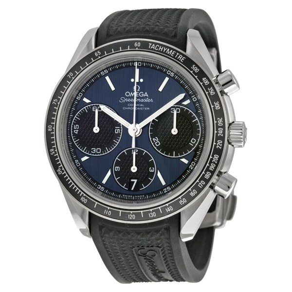 Omega Speedmaster Racing Automatic Chronograph Blue Dial